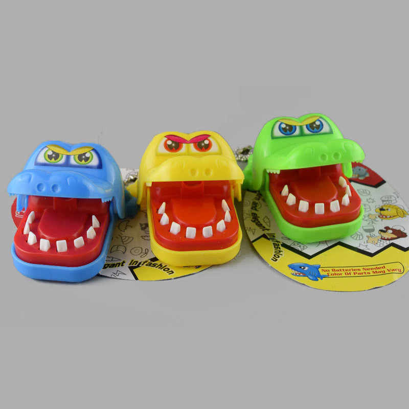 BERYOU Mini Bite Hand Crocodile Prank Toys Alligator Biting Finger Children Jokes Toy Halloween Party Gift -20