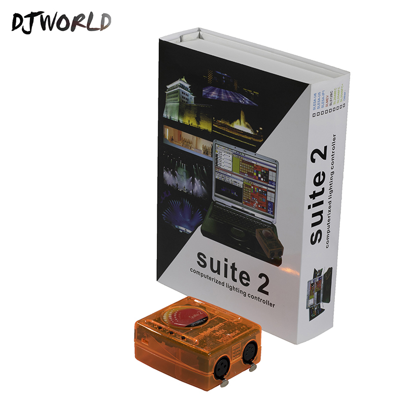 Fast Shipping Stage Control Equipment Sunlite Suite2 FC DMX USD Controller DMX512 Stage Effect Good For DJ Home Party