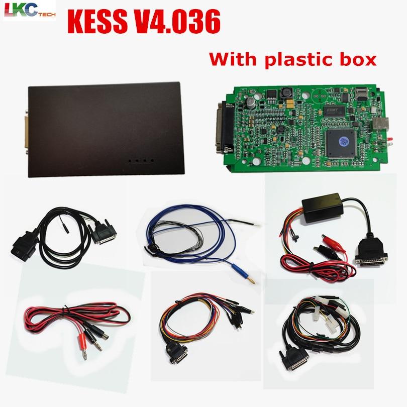 цена на 2018 KESS V2 V2.30 4.036 HW V4.036 Master OBD2 Manager Tuning Kit No Token Limitation ECU Chip Tuning Tool DHL Free
