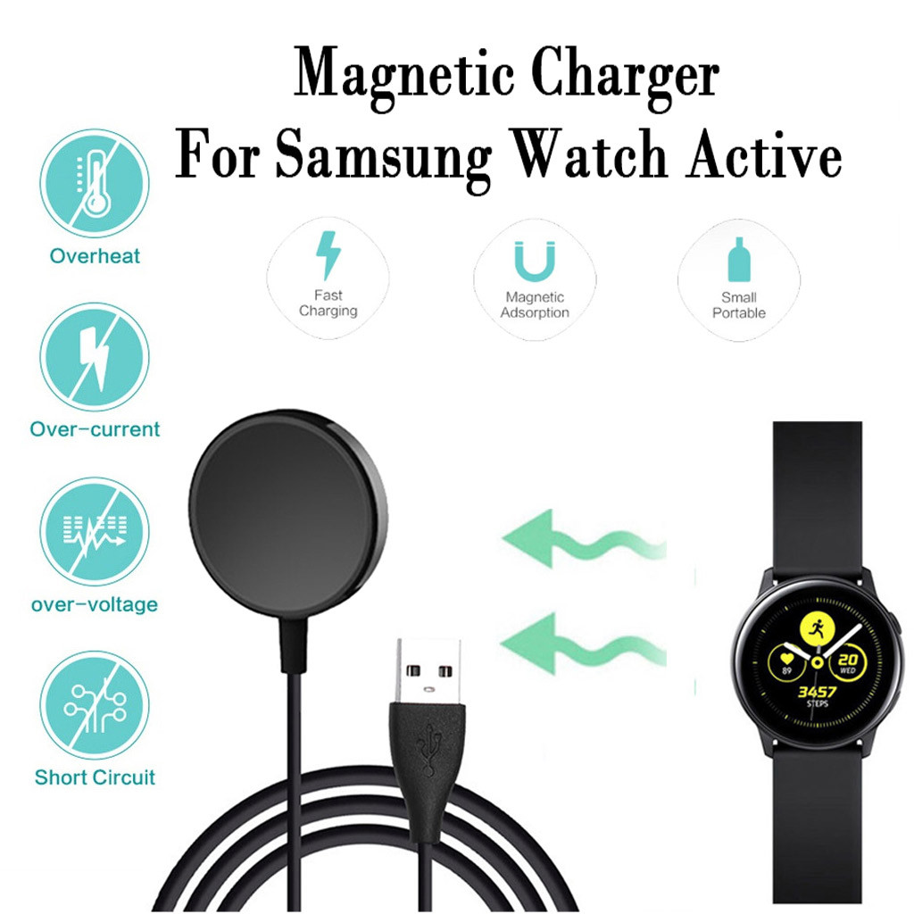 CARPRIE Portable Wireless Charger Magnetic Charging Power Source Charger For Samsung Galaxy Watch Active 40mm For Samsung  #2