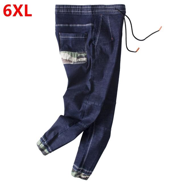 plus size pants people trend long leg pants Trend code big yards bring Harem pants 6XL ankle-length