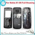 Para nokia x1 x1-00 nuevo de alta calidad completa teléfono móvil caso cubierta de la carcasa completa + inglés y ruso del teclado + herramientas