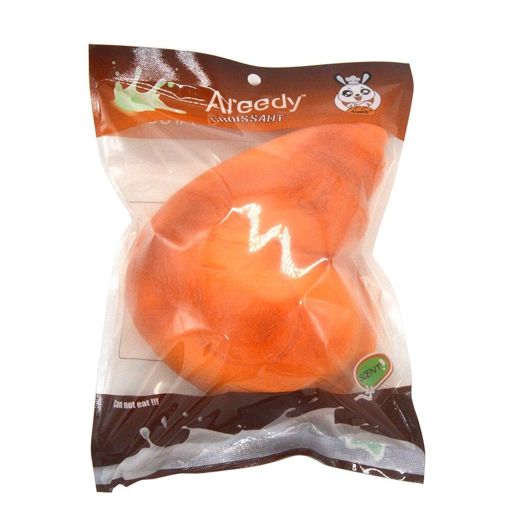 10 ks / šarže Colossal Areedy Kuřecí stehenní chléb Squishy Super Pomalu stoupající vonící originální vkusně balíček