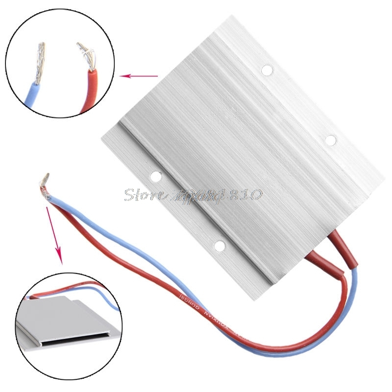For Thermostat PTC Heating Element 200 W AC / DC 220 V Aluminum Ceramic Heater Max Z09 Drop ship