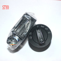 STYO Auto Light Sensor With Headlight Switch Leaving Home Coming Home Function For Polo Golf 4 Jetta MK4 Amarok T5