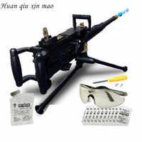 Huan qiu xin mao Yüksek kaliteli yeni simülasyon makineli tabanca patlamaları su mermisi silah askeri model çocuk oyuncağı tabancaları