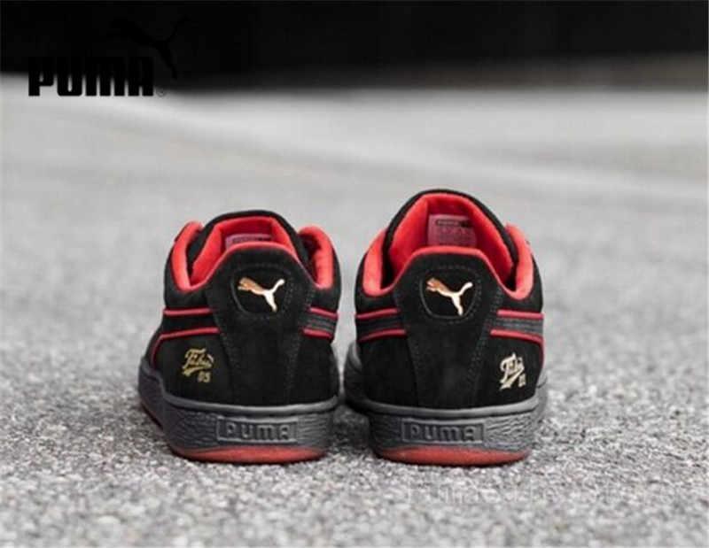 f8f08962140d ... PUMA X FUBU 05 Suede Classic Mens Black Women Sports Sneakers Men 50th  Anniversary Edition 366320