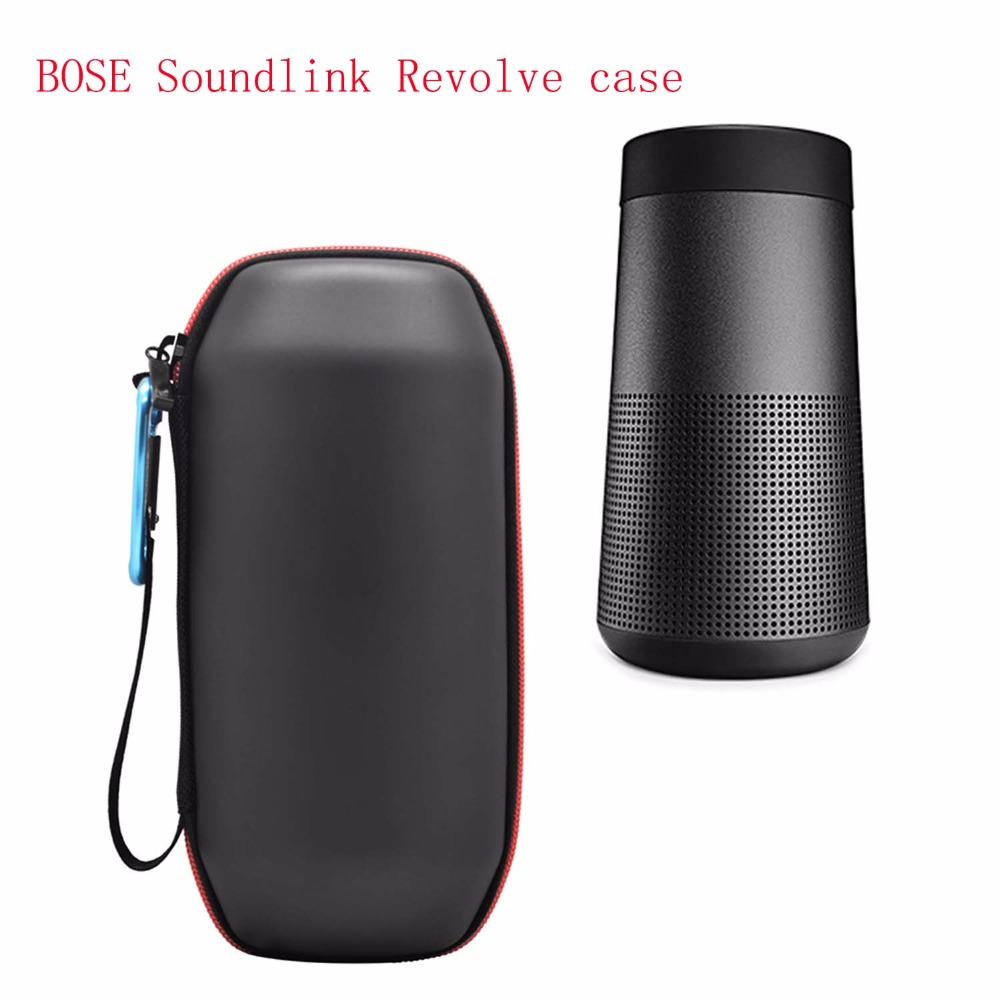 Newest Travel Protective Case For Bose Soundlink Revolve Bluetooth Speaker Carry Pouch Bag Cover Case For Revolve Column