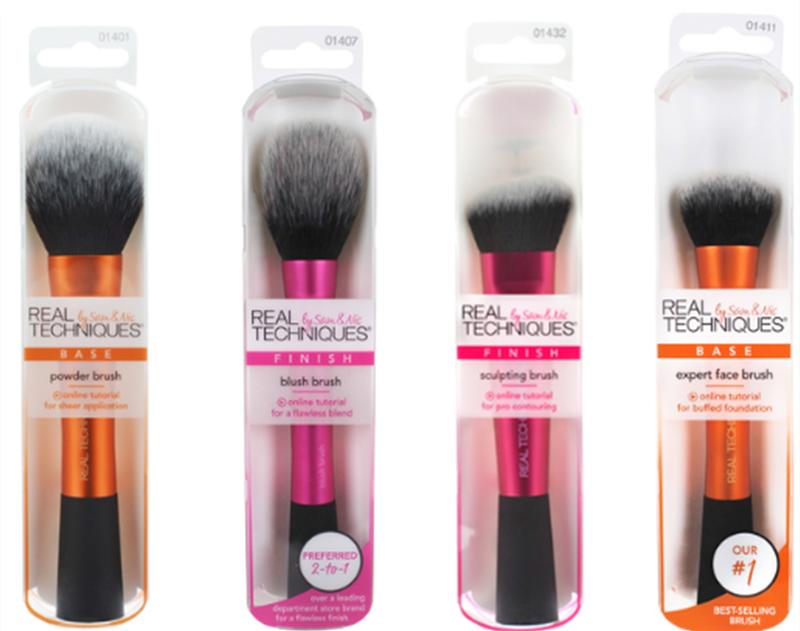 NEW Make Up Brushs Makeup Sponge Maquillage Real Technique Makeup Brushs Powder Loose Box Belt Foundation Brush  Free Shipping