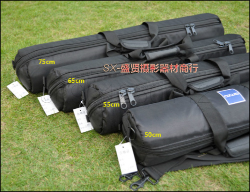 Tripod Bag Black 50cm 55cm 60cm 65cm 70cm 75cm 80cm 100cm Padded Strap Camera Tripod Carry Bag Travel Case For Velbon Tripod Bag