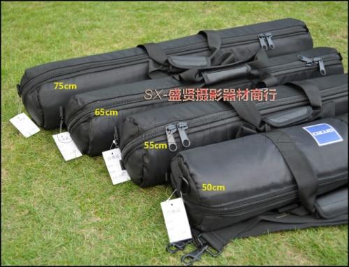 Saco tripé preto 55 50 cm cm cm cm cm cm 80 75 70 65 60 cm 100 cm Acolchoado strap Tripé de Câmera Carry Bag Travel Case Para saco Tripé Velbon