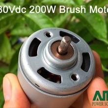 200 Вт 12-230Vdc 12000 об/мин высокоскоростной щеточный мотор для бытовой техники, соковыжималки, измельчителя, ручной блендер, RS-7712SHFC2J2-13160RIB