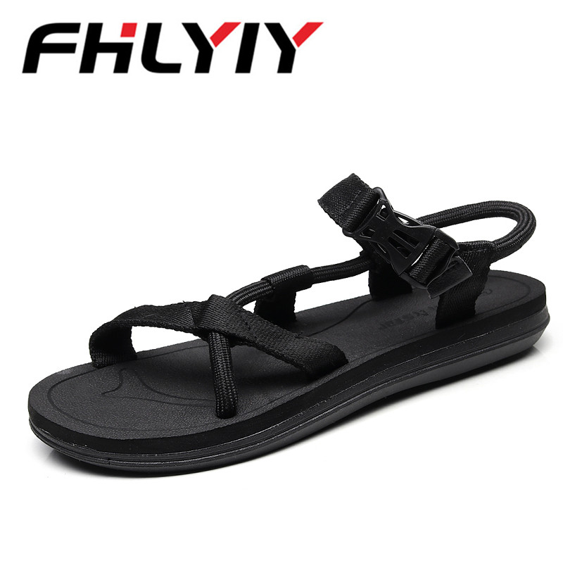 Plus Size 45 Men Summer Sandals New Trend Casual Shoes Breathable Beach Sandias Non-Slip Soles Unisex Cool Loafer Men Shoes