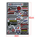 Motorcycle racing sticker Motocross general cheap sticker adhensive ATV decals car F1 moto sticker supermoto CRF YZF KXF RMZ KYB