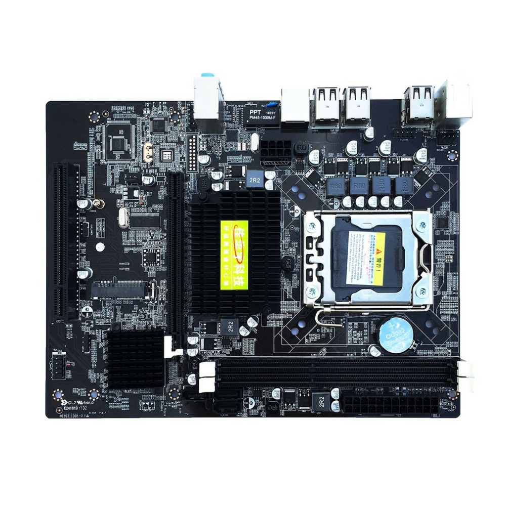 X58 Desktop PC Motherboard LGA 1366 E5645 6core 12Threads CPU + 8G Memory + Mute Fan Computer Main Board DDR3 RAM getworth s6 office desktop computer free keyboard and mouse intel i5 8500 180g ssd 8g ram 230w psu b360 motherboard win10