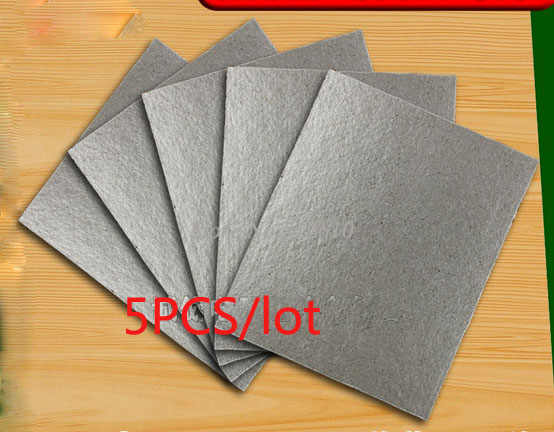 High Temperature Heat insulating Mica Sheet Mica Paper Mica Fire Insulation Board 15X12cm 5PCS/lot