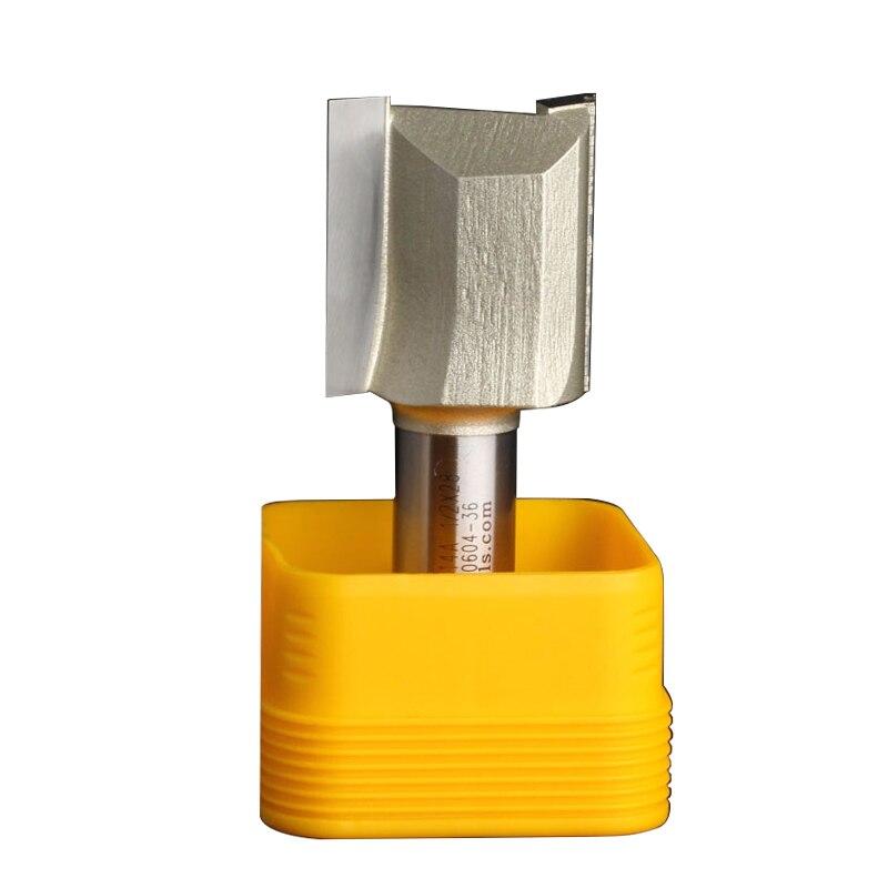 Fresas para router Holzbearbeitung Werkzeuge Metric Flöte Gerade Bit Arden Router Bits - 1/2*28mm - 1/2