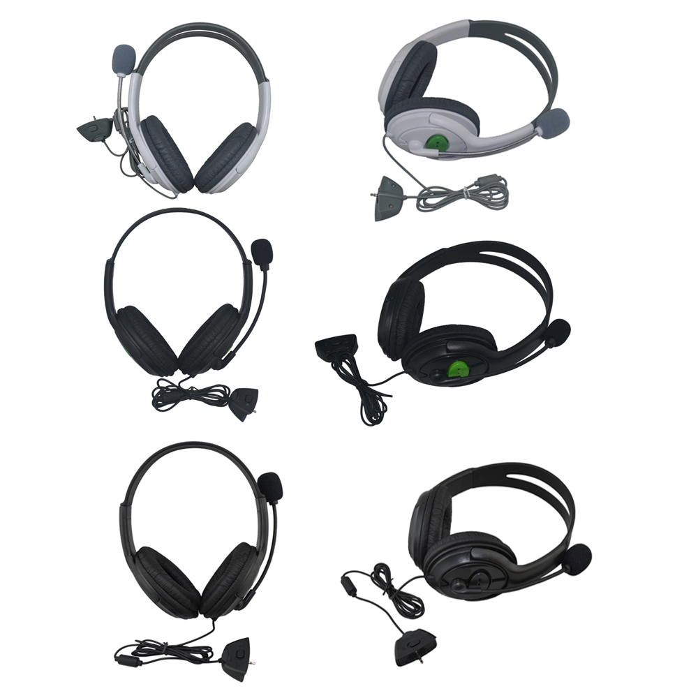High Quality Big Headset Headphone With Microphone for XBOX 360 Xbox360 Slim NEW Arrival ...