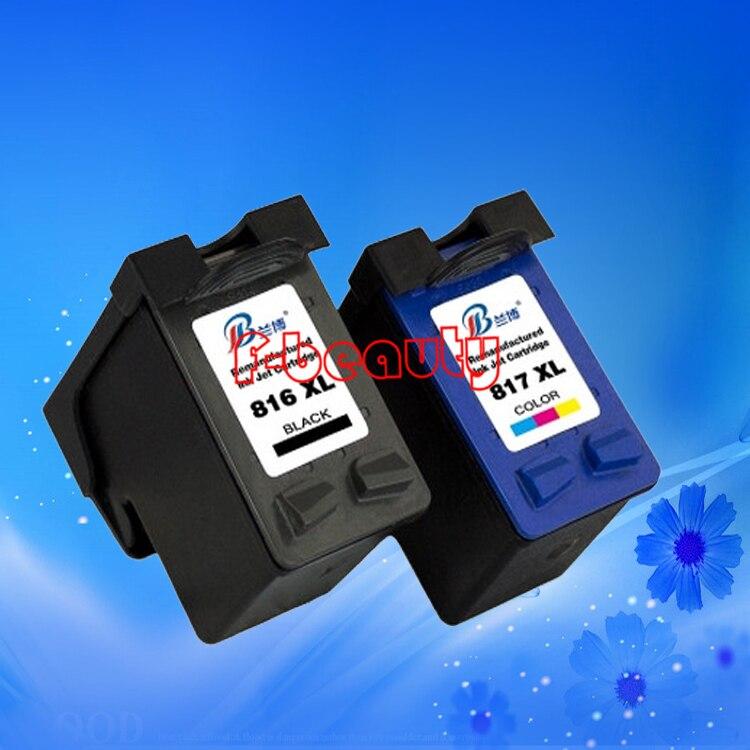 где купить  High quality HP816XL 817XL ink cartridge compatible for HP 1218 2128 2188 2360 3500 378 388 3558 3668 3938 2238 3740 1568 1468  по лучшей цене