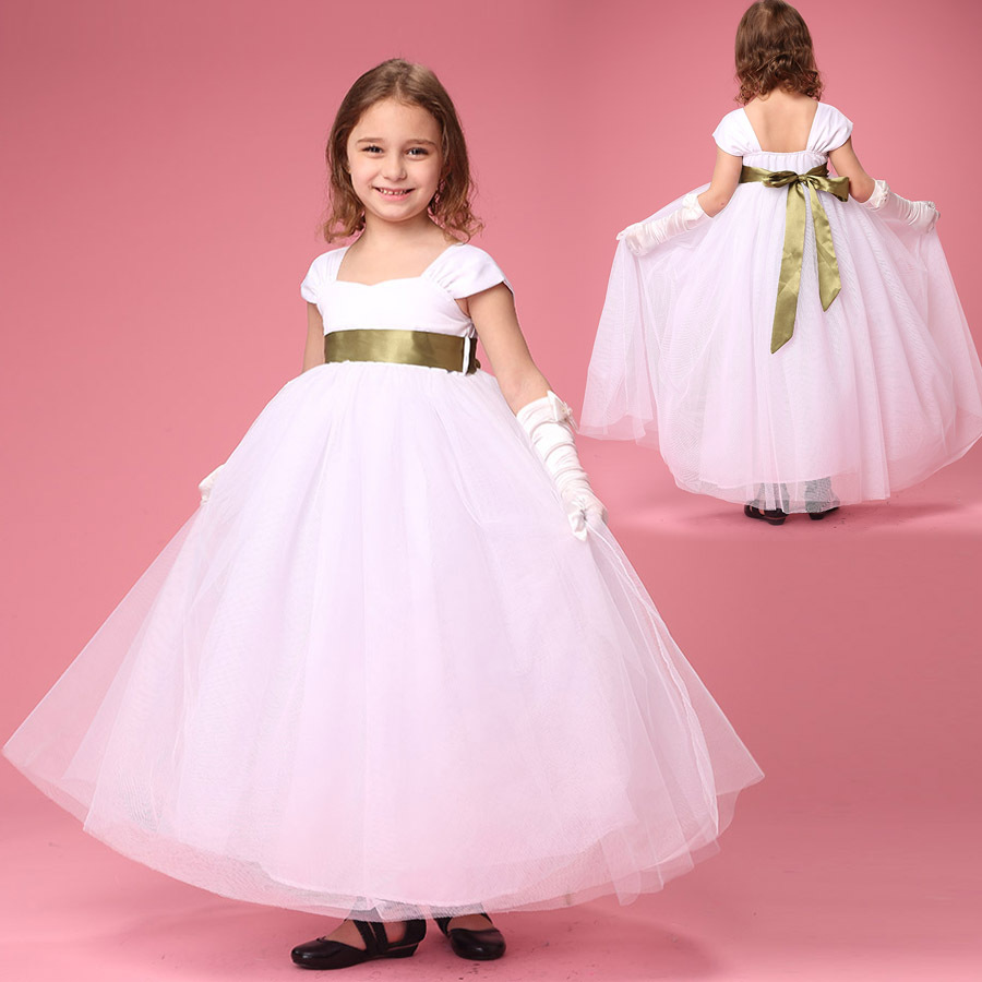 European Children Baby Girl Vintage Clothing Girls Party Dress Kids Elegant for Occasions Flower Girl Dresses for Weddings 2017