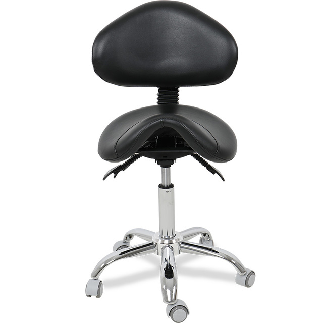 rolling stool chair build a rocking aliexpress com buy multi adjustable luxury saddle with back support for clinic hospital pharmacy medical beauty lab office