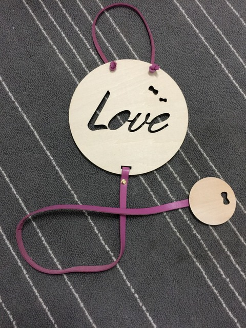 2018 New Nordic Style Kids Room Decoration Wooden Board Painting Wall Hanging Decoration For Children Room Scandinavian Decor