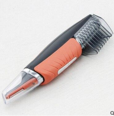 Maschio Pro 2 in 1 Capelli Trimmer Shaver Governare Switchblade Strumento Kit uomo Orecchie Naso del Fronte del Collo Del Sopracciglio Dei Capelli Baffi Barba Trimmer