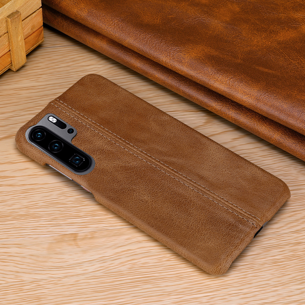 Image 5 - Genuine Leather Case For Huawei P30 Pro Ultra Slim Full Body Non Slip Grip Scratch Resistant Cover Cases for P20 Pro P10 Plus-in Fitted Cases from Cellphones & Telecommunications