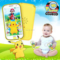 English Language Pokemon Go Touch Screen Learning Machine educational  toys phone education Electronic cartoon toys playmobil