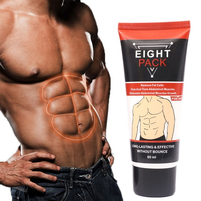 Powerful Abdominal Muscle Cream Stronger Muscle Strong Anti Cellulite Burn Fat Product Weight Loss Cream Men 60ml 5