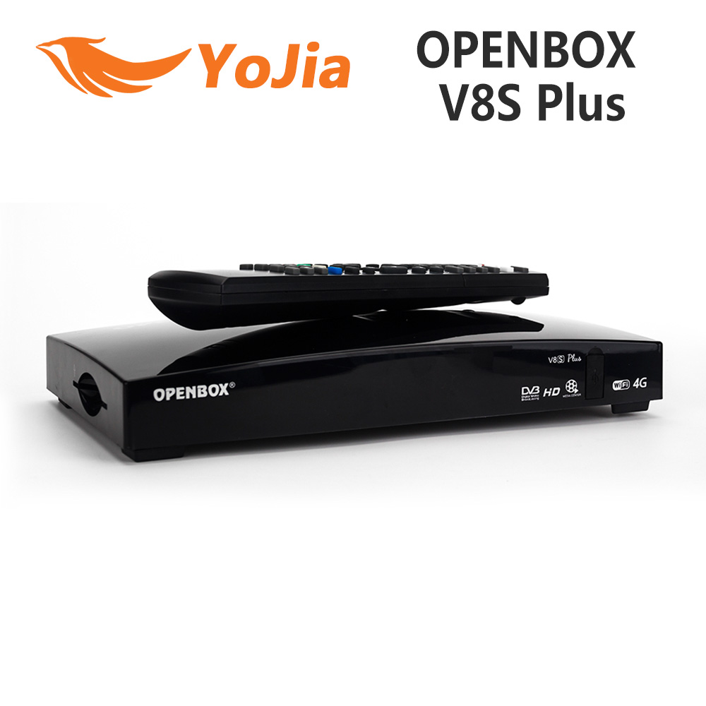 10pcs Openbox V8S Plus DVB-S2 Digital Satellite Receiver Support Xtream TV USB Wifi Youtube Biss Key NEWCAMD MGCAMD цена
