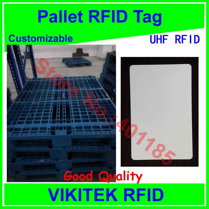 все цены на  Pallet  UHF RFID tag customizable PVC card 860-960MHZ 915M EPC C1G2 ISO18000-6C  онлайн