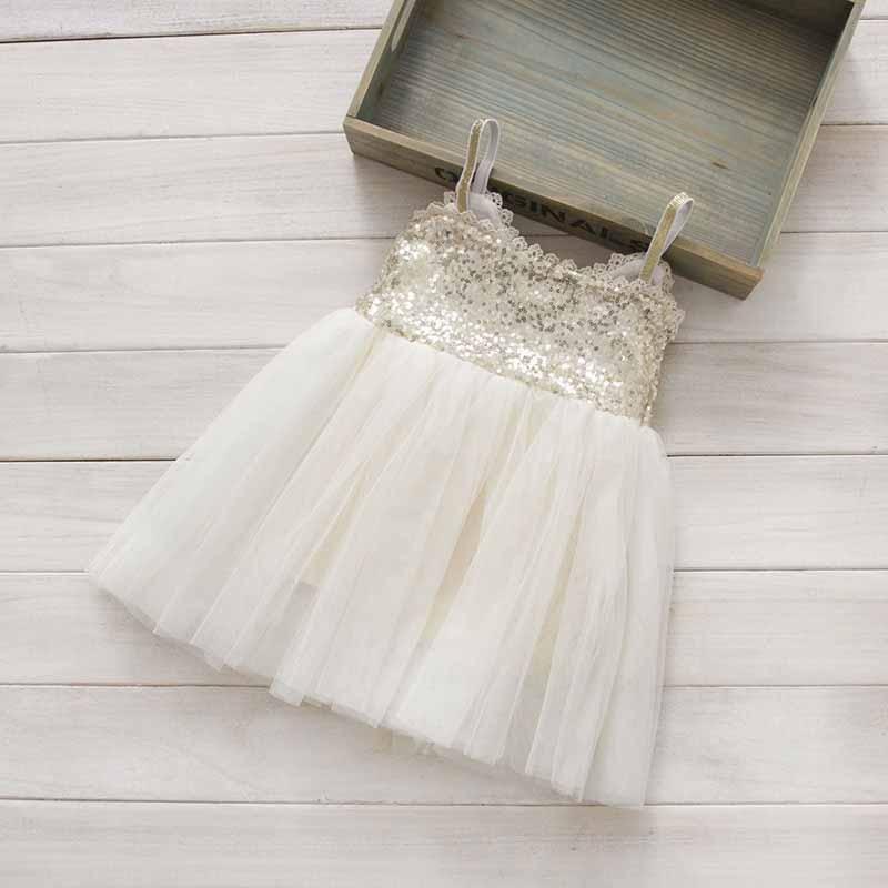 Childs Dresses 2017 Girl Wedding Dress Fashion Girl Lace Tulle Dresses High-grade Children Belle Clothing
