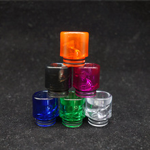 50pcs/lot plastic drip tips 810 pc mouthpiece prevent eliquid spill from atomizer ecig accessory
