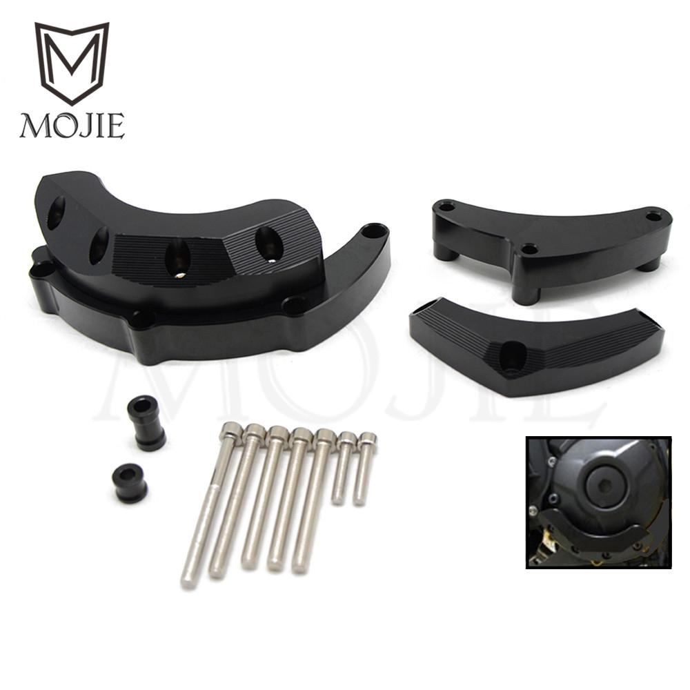 For Yamaha MT-09 MT09 MT 09 FZ-09 FZ09 FZ 09 14-17 Motorcycle Accessories Engine Stator Guard Covers Engine Case Cover Protector motorcycle engine cover protection case for mt 09 mt09 fz 09 fz09 2013 2017