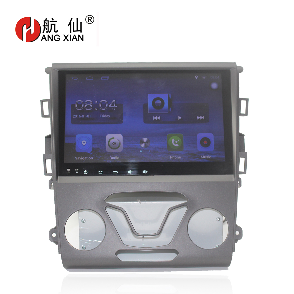 Free Shipping 9 Quad core Android 7.0.1 Car DVD Player For Ford Mondeo car GPS Navigation bluetooth,Radio,wifi