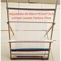 15%, hand-gemaakt weefgetouwen DIY lifting Tapestry Loom Grote frame breien machine met Glad oppervlak Beuken houten 89*87 cm