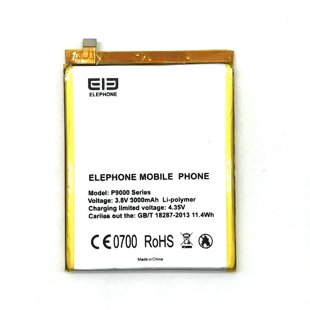P9000 3000 mah Batterie Pour Elephone P9000 téléphone portable + Code de Voie