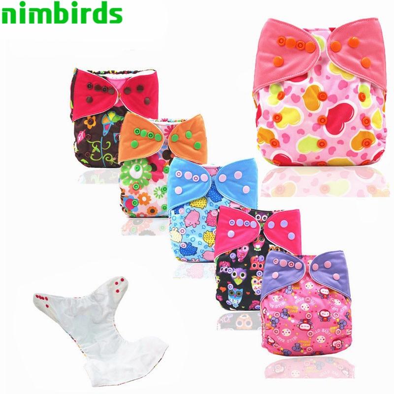 Pañales de tela de bebé reutilizables Bolsillos de la cubierta de - Pañales y entrenamiento para ir al baño - foto 1