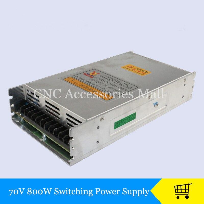 Cnc routeur 70 v 800 w alimentation à découpage pour cnc machine De Gravure