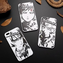 Naruto Black White iPhone Cases