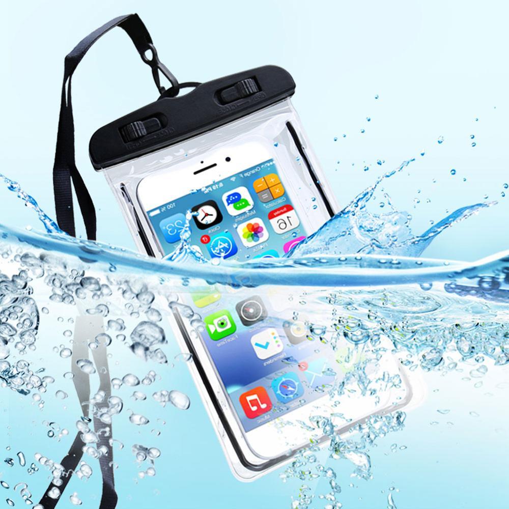 Waterproof Phone Case For Iphone 7 8 Plus XR X Swim Bag For Samsung S10 Huawei P20 Lite Bag Swim Waterproof Case