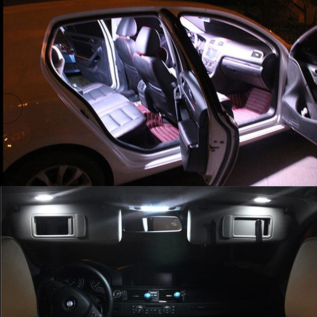 Pcs For BMW X E White LED Interior Light Kit - Bmw 23