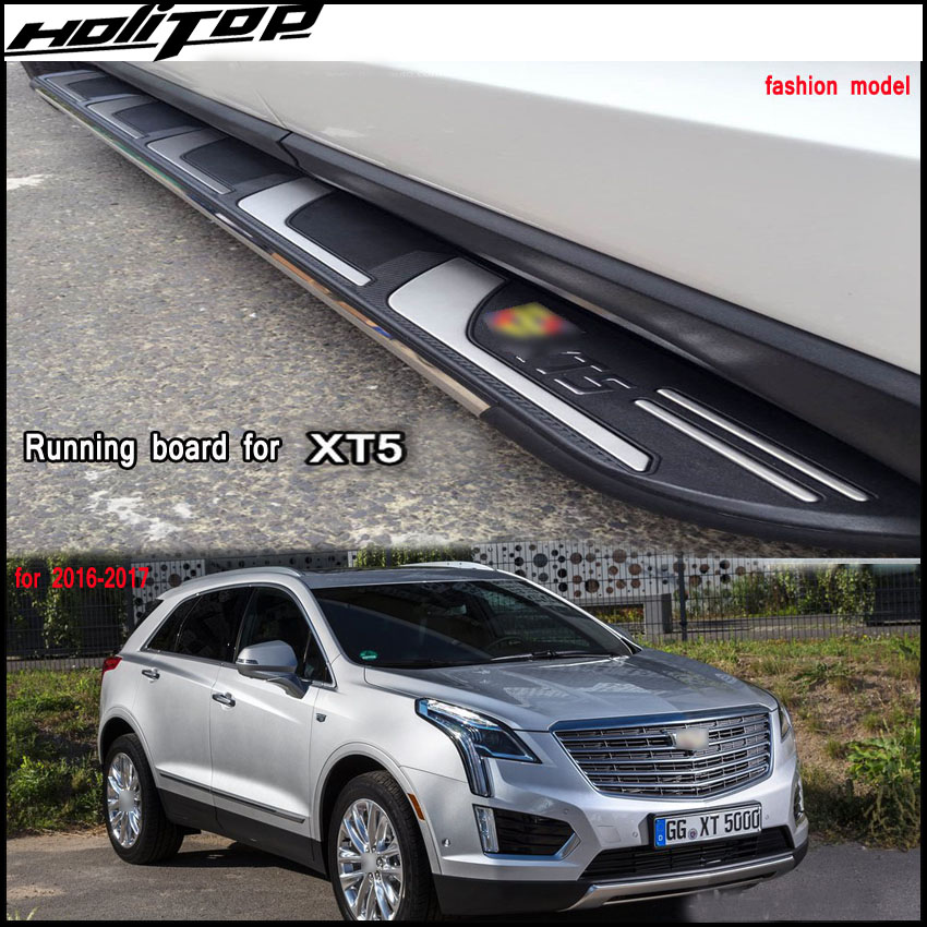 New 2016 Cadillac: New Arrival Nerf Bar Side Steps Footboard For Cadillac XT5 2016 2018. ISO9001 Quality Factory