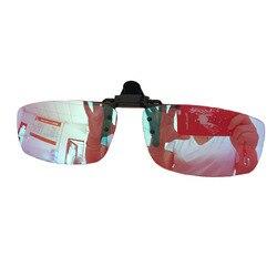 Männer Carter Farbe Blind Clip auf Gläser Rot Grün Erblindung Farbe Schwäche Gläser Frauen Korrektur Colorblind Fahrer Brillen