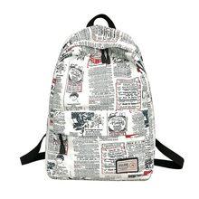 b81864a342a2 WSY бренд Уникальный принт рюкзак женский Цветочный рюкзак непромокаемый  холст рюкзак школьный рюкзак для девочек рюкзак
