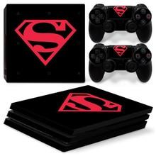 Superman PS4 Pro Skin Sticker Vinyl Decal