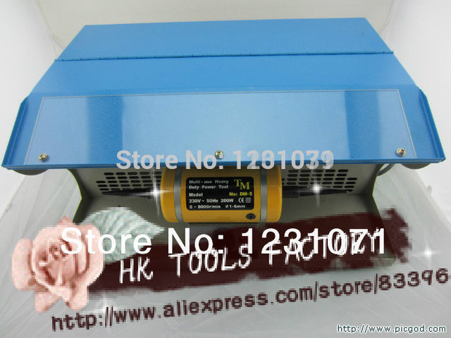 oo HOT jewelry Polishing motor with Dust Collector,mini bench lathe,mini table polisher