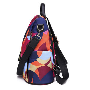 Image 3 - DIZHIGE Brand Fashion Waterproof Oxford Women Anti theft Backpack High Quality School Bag For Women Multifunctional Travel Bags