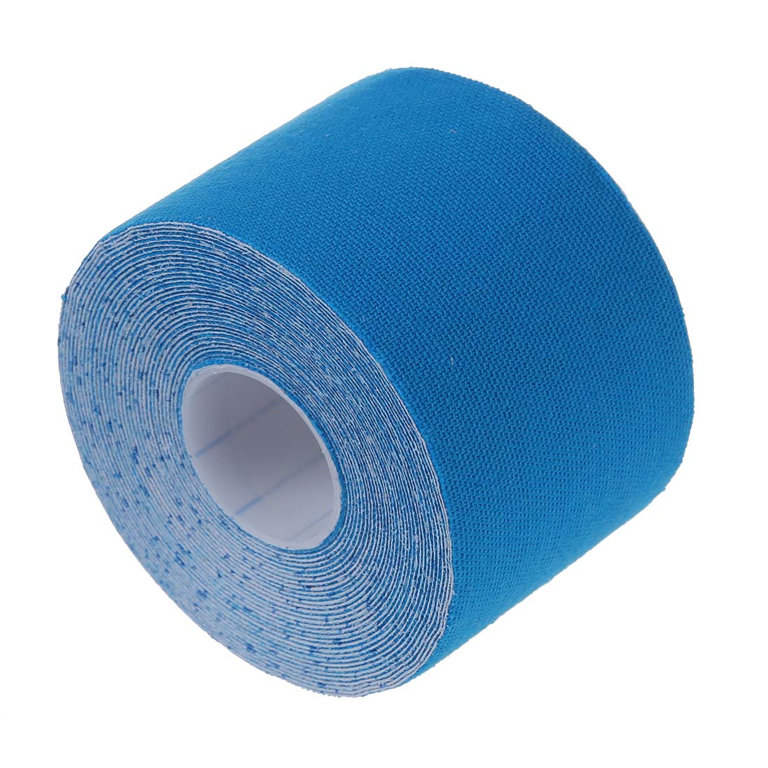 1 Roll Sports Kinesiology Muscles Care Fitness Athletic Health Tape 5M * 5CM - Blue/Black